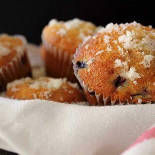 Award Winning Blueberry Muffins